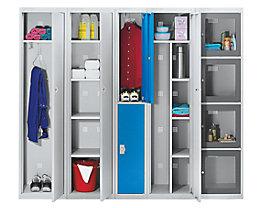 QUIPO Garderobenschrank - HxBxT 1800 x 300 x 500 mm, 1 Hutboden, 1 Kleiderstange