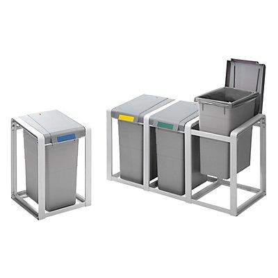 Hailo Wertstoffsammlersystem, flexibel - Basismodul - Volumen 1 x 35 l