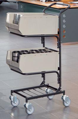Servicewagen - mit 2 Sichtlagerkästen