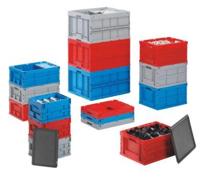 Faltbox aus Polypropylen - Inhalt 63 l, LxBxH 600 x 400 x 320 mm