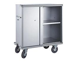 Armoire roulante en aluminium - capacité 640 l