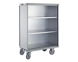 Armoire roulante en aluminium - capacité 875 l