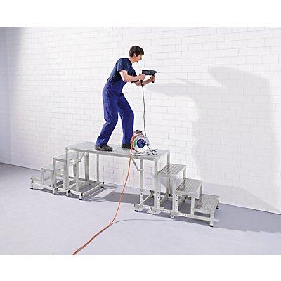 EUROKRAFT Überstiegmodul - Modullänge 1000 mm - für Modul-Arbeitspodest