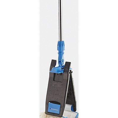 Mopphalter mit Chromstiel - für Laschen-Breitwischmopp - 1400 mm lang