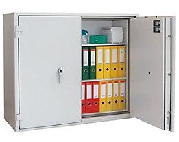 Armoire ignifuge pour documents papier à parois multiples - classe VDMA B et S 60 P, format armoire basse