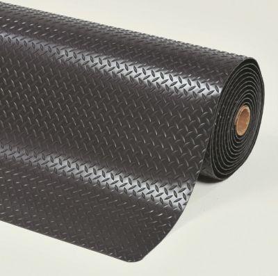 Anti-Ermüdungsmatte - pro lfd. m, PVC, schwarz