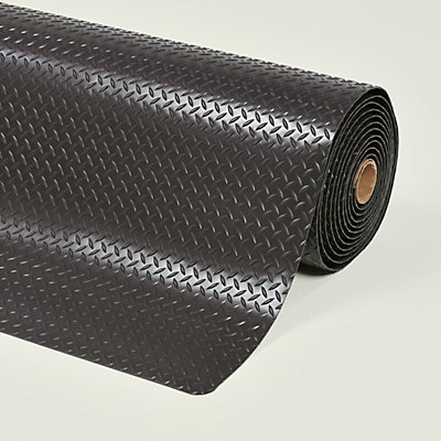 Notrax Anti-Ermüdungsmatte - pro lfd. m, PVC, schwarz