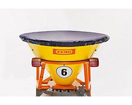 CEMO Abdeckung für Fülltrichter - für Großvolumen-Streuwagen - Schutz des Streuguts