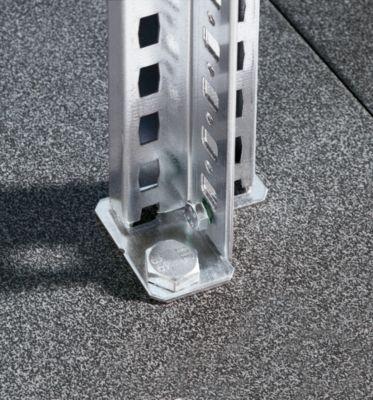 EUROKRAFT Fachboden-Steckregal - Regalhöhe 2000 mm, Fachbodenbreite 965 mm