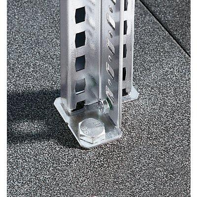 EUROKRAFT Fachboden-Steckregal - Regalhöhe 2000 mm, Fachbodenbreite 1215 mm