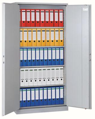Stahl-Büroschrank - HxBxT 1950 x 1200 x 500 mm