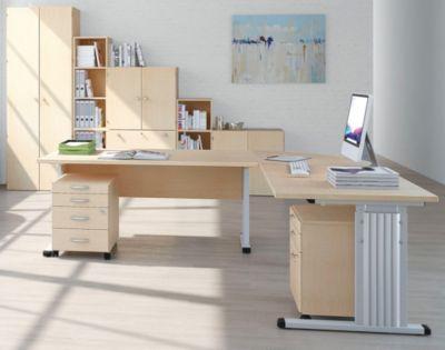 VERA Büroschrank - 5 Fachböden, 800 mm breit