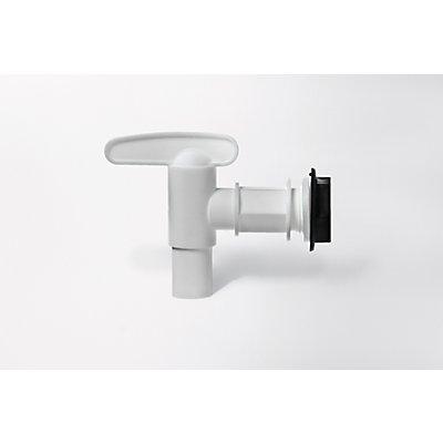 Kunststoff-Auslaufhahn - Nennweite 18 mm - inkl. Kontermutter und Dichtung