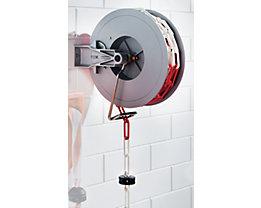 Enrouleur automatique - avec chaîne rouge / blanc