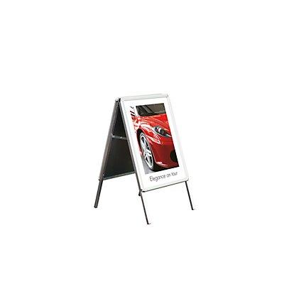 Jansen Display Klappwerbeständer WETTERFEST - HxBxT 1120 x 639 x 744 mm