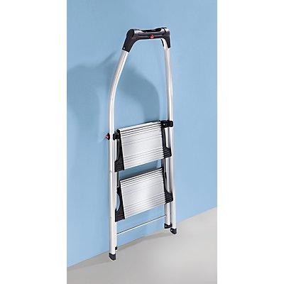Hailo Design-Klapptritt - Stahl-Stufen