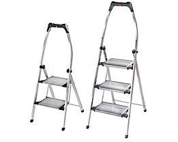 Design-Klapptritt - Stahl-Stufen