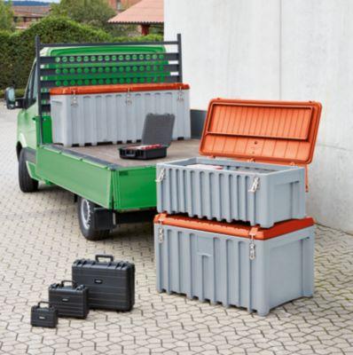 CEMO Universalbox aus Polyethylen - Inhalt 250 l, Traglast 200 kg, gelb