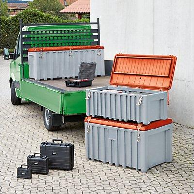 CEMO Universalbox aus Polyethylen - Inhalt 150 l, Trolley