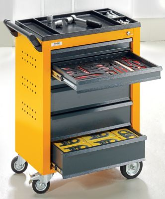QUIPO Werkzeugwagen - 6 Schubladen mit Einzelarretierung