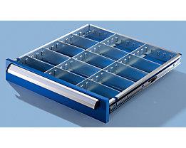 Schubladeneinteilungsset - für Schrankbreite 600 mm - für Schubladenhöhe 100 mm