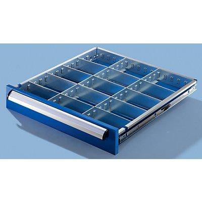 Schubladeneinteilungsset - für Schrankbreite 600 mm