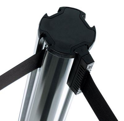 Gurtpfosten aus Aluminium - Bandauszug 2300 mm