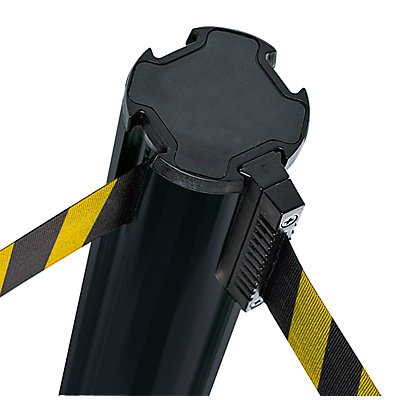 VIAGUIDE Gurtpfosten aus Kunststoff - max. Bandauszug 3700 mm