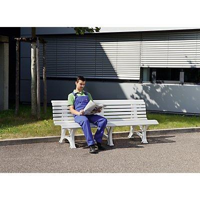 BLOME Parkbank aus Kunststoff - mit 13 Leisten