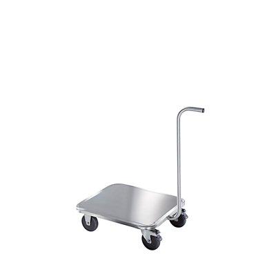 Edelstahl-Griffroller - Radsatz Edelstahl - Tragfähigkeit 250 kg