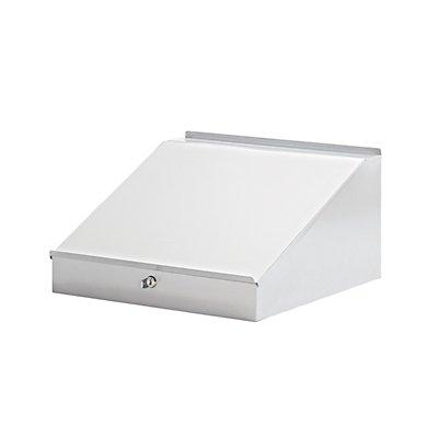 Schreibpultaufsatz - HxBxT 95/275 x 495 x 495 mm - lichtgrau