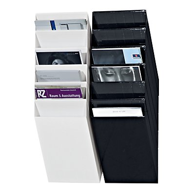Durable Distributeurs muraux de prospectus - format vertical, 6 x A4, lot de 2
