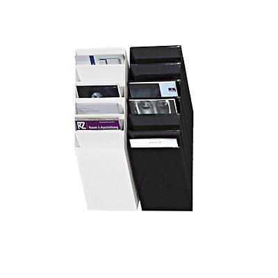 Durable Wandprospektspender - Hochformat, 6 x DIN A4, VE 2 Stk
