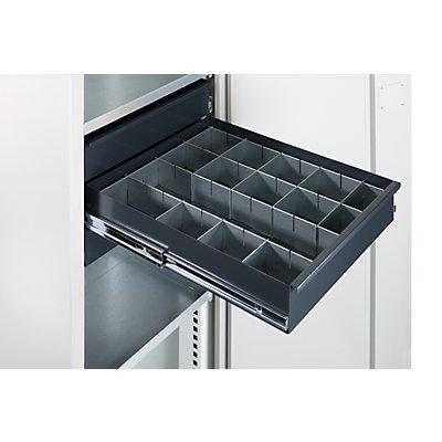 Schubladeneinteilungsset - für Materialschrank - 14-teilig