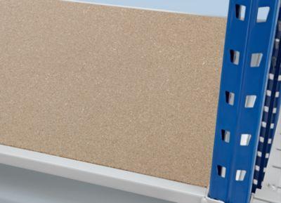 Schwerlast-Großfachregal - mit Spanplatten-Auflagen