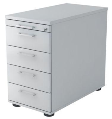 office akktiv Standcontainer - 1 Utensilienschub, 4 Materialschübe