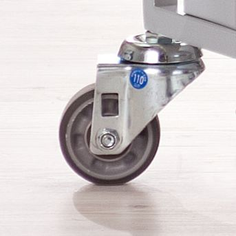 QUIPO Stahl-Ordnerwagen - 2 Etagen