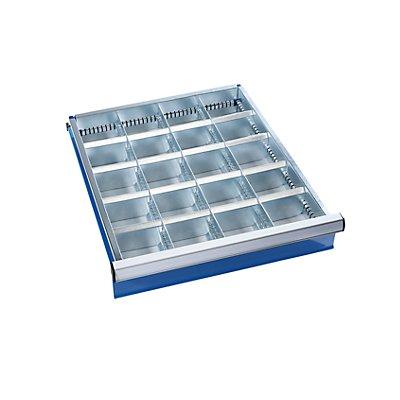 Schubladeneinteilungs-Set - 16 Querteiler