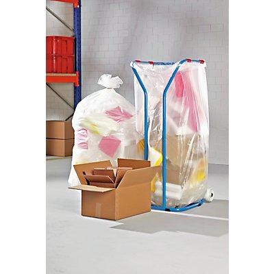 Abfallsack - aus Polyethylen, transparent