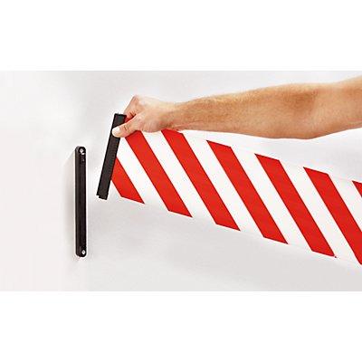 Tensabarrier Tensator Gurtabsperrung - Kunststoffkassette rot, Gurtfarbe Rot / Weiß