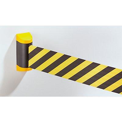 Tensabarrier Tensator Gurtabsperrung - Kunststoffkassette gelb, Gurtfarbe Gelb / Schwarz