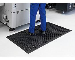 Bodenmatte, gelocht - LxBxH 1500 x 900 x 14 mm