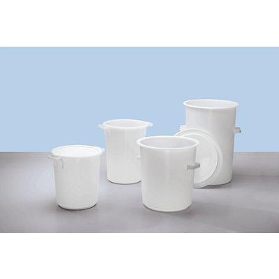 Kunststofftonne - Volumen 50 l, Höhe x Außen-Ø oben 555 x 420 mm