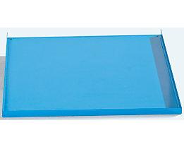 Ablageboden - Breite 240 mm, lichtblau