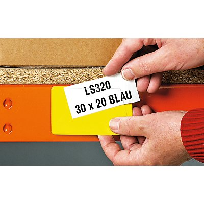 Etikettenhalter - magnetisch, VE 100 Stk