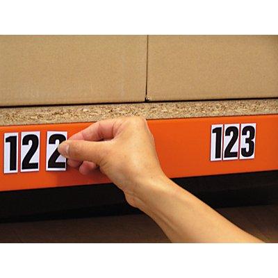 DIN-A4-Bogen mit Schriftzeichen - magnetische Buchstaben, VE 2 Stk