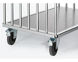 Rohrbügel für Platten-Transportwagen - Höhe 600 mm - für Ladeflächenlänge 1000 mm