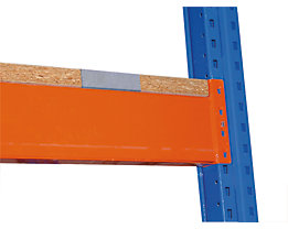 Spanplatte, aufgelegt - 1-teilig, für Trägerlänge 1825 mm, für Regaltiefe 800 mm