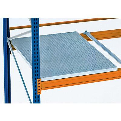 Schulte Gitterrostboden, verzinkt/aufgelegt - Ausführung 4-teilig