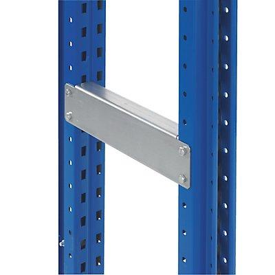 Schulte Distanzstücke, verzinkt - für Doppelregal, 1 Paar, Länge 200 mm